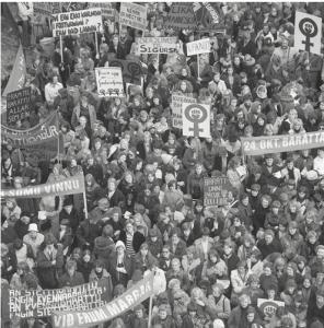 Útifundurinn á Lækjartorgi 1975