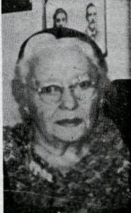 EInfríður María Guðjónsdóttir. Mynd úr Morgunblaðinu 01.07.1971