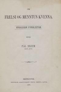 Um_frelsi_og_menntun_kvenna